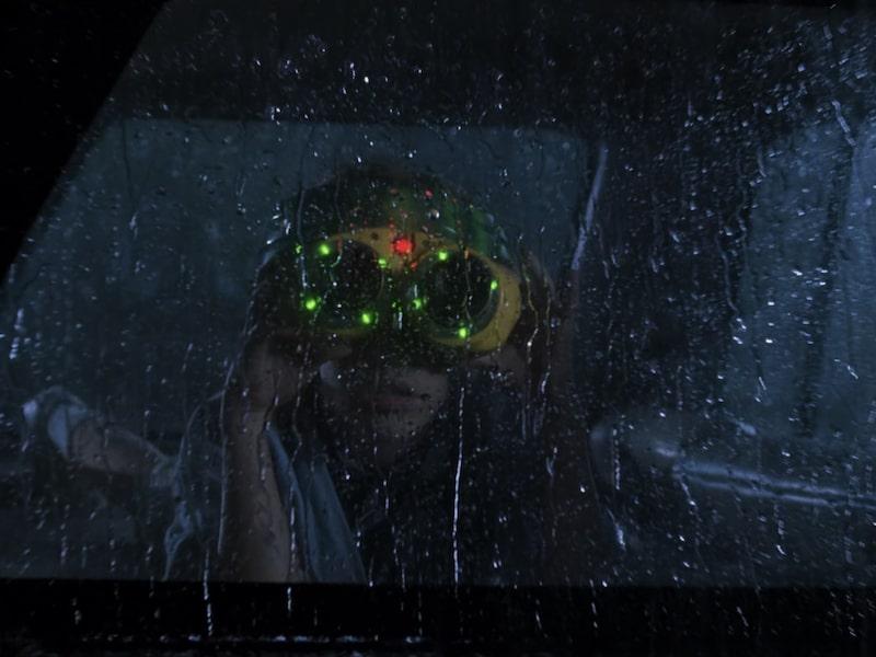 Jurassic Park T Rex Night Vision