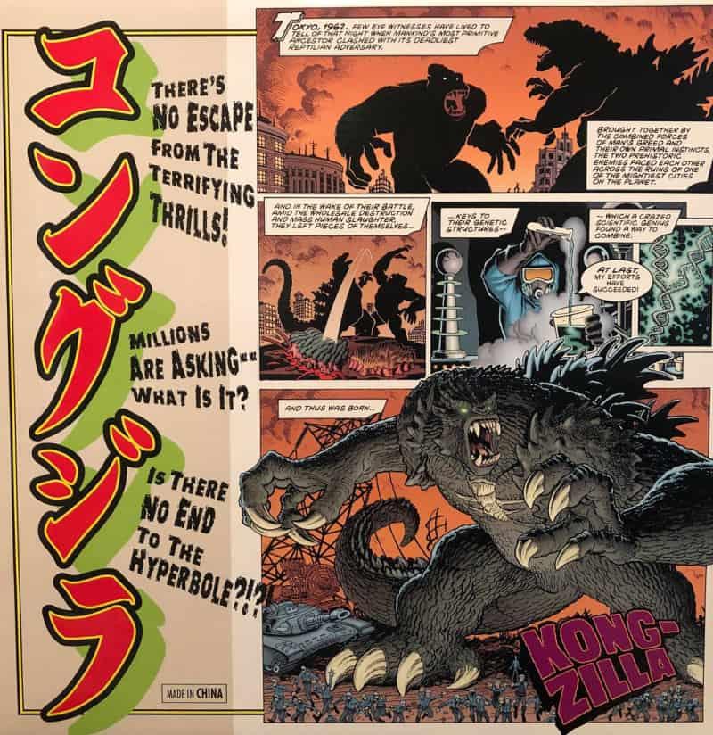Godzilla Vs Kong Kongzilla Art Adams