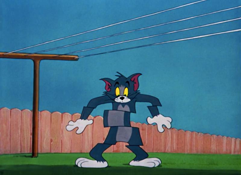 Best Tom & Jerry Flying Cat