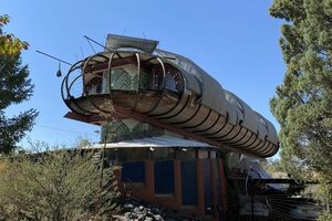 Spaceship house or bug house—the verdict is still out